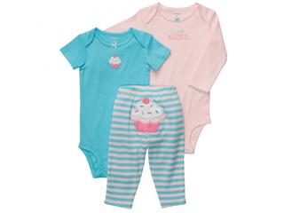 Carter's bebi set za devojčice 3kom z13121b691