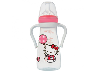 Flašica Hello Kitty, silikon, 6-18